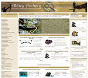 Online Store for Abbey Archery Pty. Ltd.